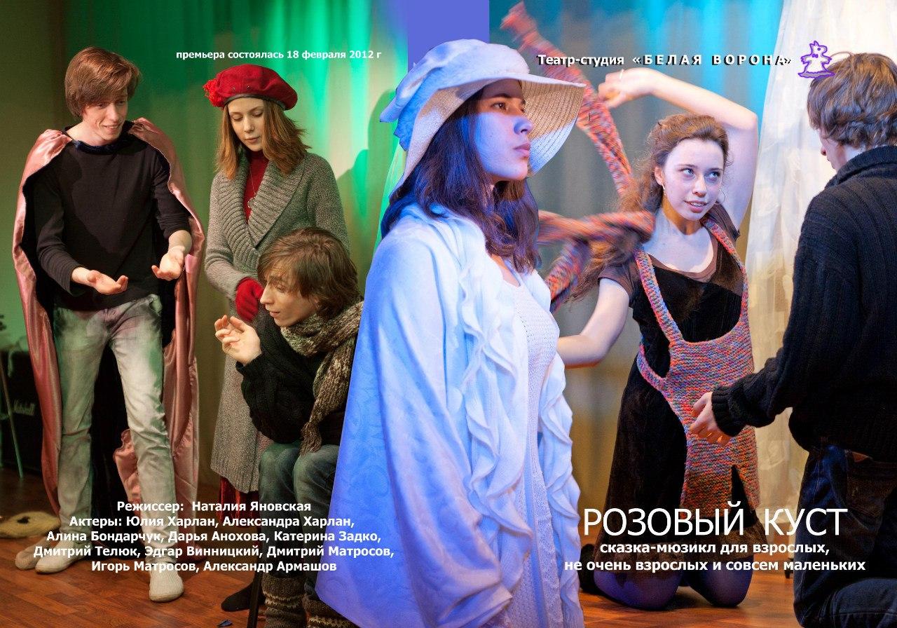 """Спектакль-мюзикл """"Розовый куст"""""""